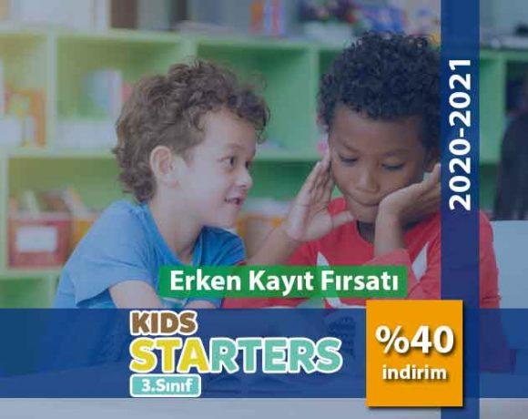 3.Sınıf İngilizce (Starters)
